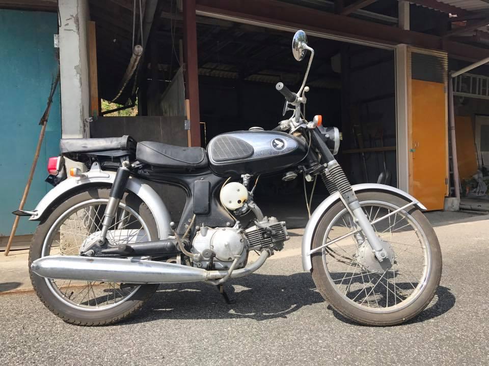 HONDA CS90 1965