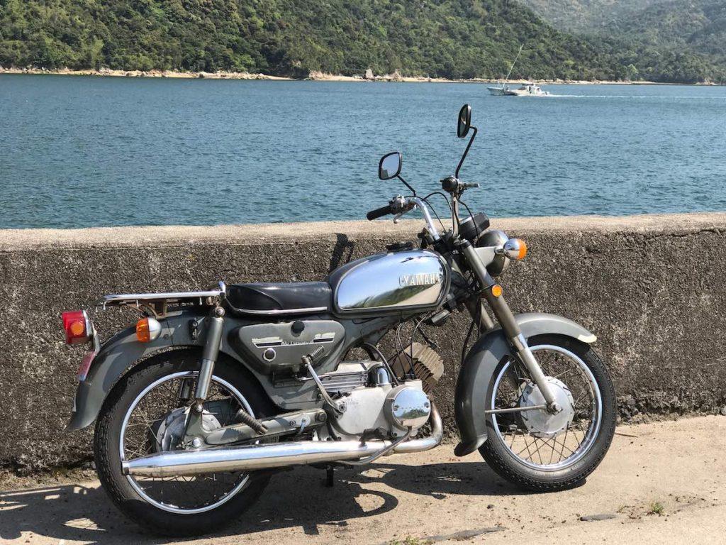 YAMAHA YB125E 1973
